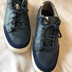 Blue cole haan sneakers